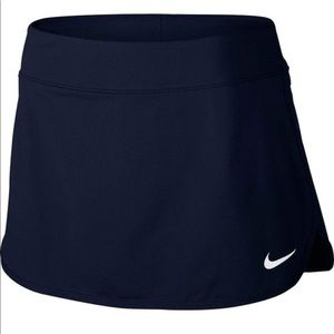Women's Nike Navy Blue Tennis Skirt